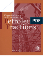 Characterization and Properties of Petroleum Fractions