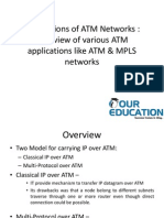 Applications of ATM Networks