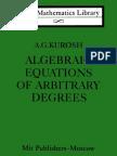 Algebraic Equations of Arbitrary Degrees LML