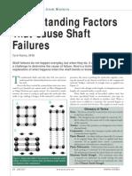 Machinery Shaft Failure&Analysis