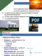 Woc Ch19-1 Radioactivity