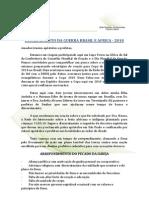 Discernimento Da Guerra Brasil e Africa