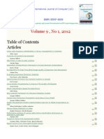International Journal of Computer (IJC) (ISSN 2307-4523) Volume 9 No1 2012