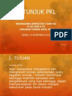 Petunjuk Pkl 2012