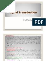Chaidir - Materi 3 & 4 Signal Transduction