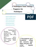 Implikasi Teori Pembelajaran Sosial Terhadap Pengajaran Dan