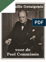 Churchills Verhoor PEEL-Commissie (geheim verslag)