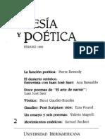 Poesía y Poética, 2 (revista completa)
