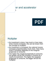 8. Multiplier and Accelerator