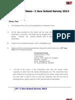HT- Cfore School Questionnaire_2013