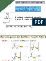 Derivati Degli Acidi Carbossilici (Schemi e meccanismi). Chimica organica.