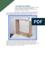 Cómo hacer un cajón de maderaXXXX