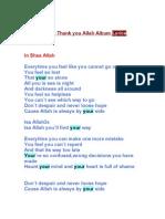 Maher Zain Lyrics