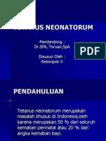 Copy of TETANUS NEONATORUM.ppt