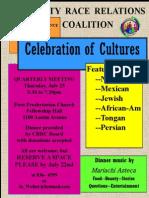 Flier 7.25.13 Celebration of Cultures Qrtly Mtg(1)