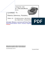 Simulado 188 - PCF Área 6 - PF - CESPE