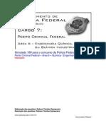 Simulado 189 - PCF Área 6 - PF - CESPE