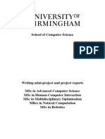 mini project report format