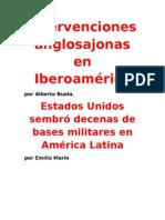 Intervenciones anglosajonas en Iberoamérica- Alberto Buela- Emilio Marín