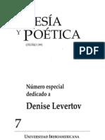 Poesía y Poética, 7 (revista completa)