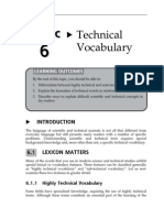 15152907 Topic 6 Technical Vocabulary