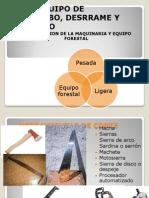 Maquinaria y Equipo Forestal