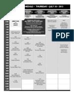 Grey Fox 2013 Schedule