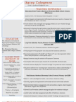 Web Resume Stacey Cole Grove