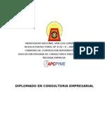 Temario - Diplomado Consultoria - Enero 2011 Ok (1)