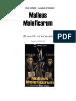 Kraemer, Heinrich - El Martillo de Loas Brujos (Malleus)1