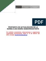 Propuesta de Actualizacion de La Norma E.030 Diseo Sismorresistente