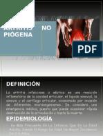 Artritis No Piogena