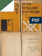 07 Claude Lévi-Strauss, Arte, lenguaje, etnología.