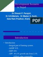 Livestock  Development Scenario in Nepal