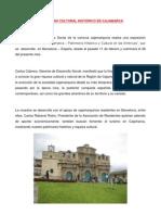Patrimonio cultural histórico de Cajamarca