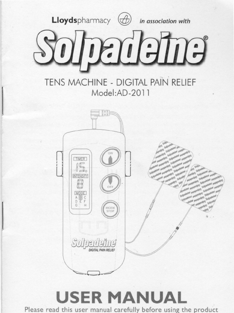 lloyds pharmacy solpadeine tens machine instructions pain rh scribd com Dry Painful Cough Painful Cough Funny