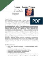 Proceso Mente Pranica - Cuerpo Pranico