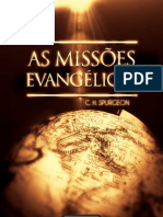 As Missões Evangélicas -Spurgeon