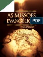 As Missões Evangélicas -Spurgeon