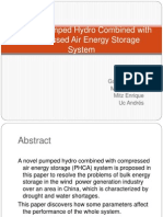 A Novel Pumped Hydro Combined With Compressed Air