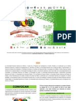 Convocatoria Nacional Congreso Cambio Climatico 2013