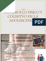 Ppt Desarrollo Fisico y Cognitivo en La Adolescencia