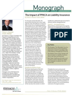 ImpactofPPACA Liability Insurance