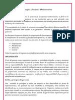 Estrategias y Funciones Administrativas Resumen Semestral Planificacion Ileana