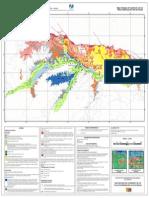 Mapa Geológico del Cuaternario y de las fallas Cuaternarias del Valle de Caracas