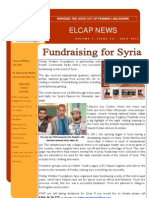 ELCAP E-Newsletter Issue 24 - July 2013