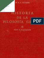 Guthrie, W.K.C. - Historia de la filosofía griega III [1971]