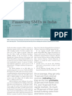 Financing SMEs in India