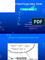[Conferencia] Aprender Matematicas Para Vivir - PabloFlores