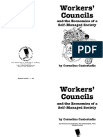 Workers Councils and the Economics of Self Managed Society Castoriadis